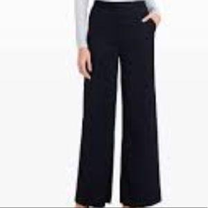 Club Monaco black satin trousers, 6